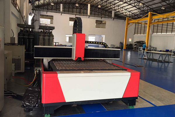 LF-1530 Laser Metal Cutter with Fiber Laser - Thai Customer