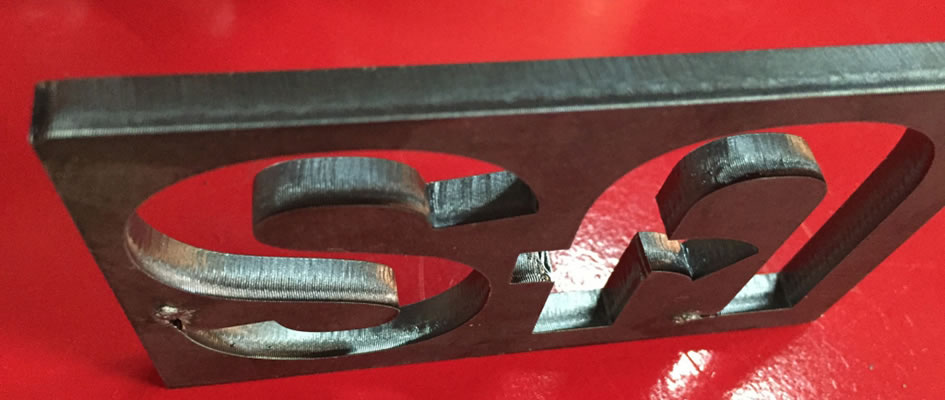 6mm Carbon Steel Cutting by LF-1530 with nLIGHT 700W Fiber Laser