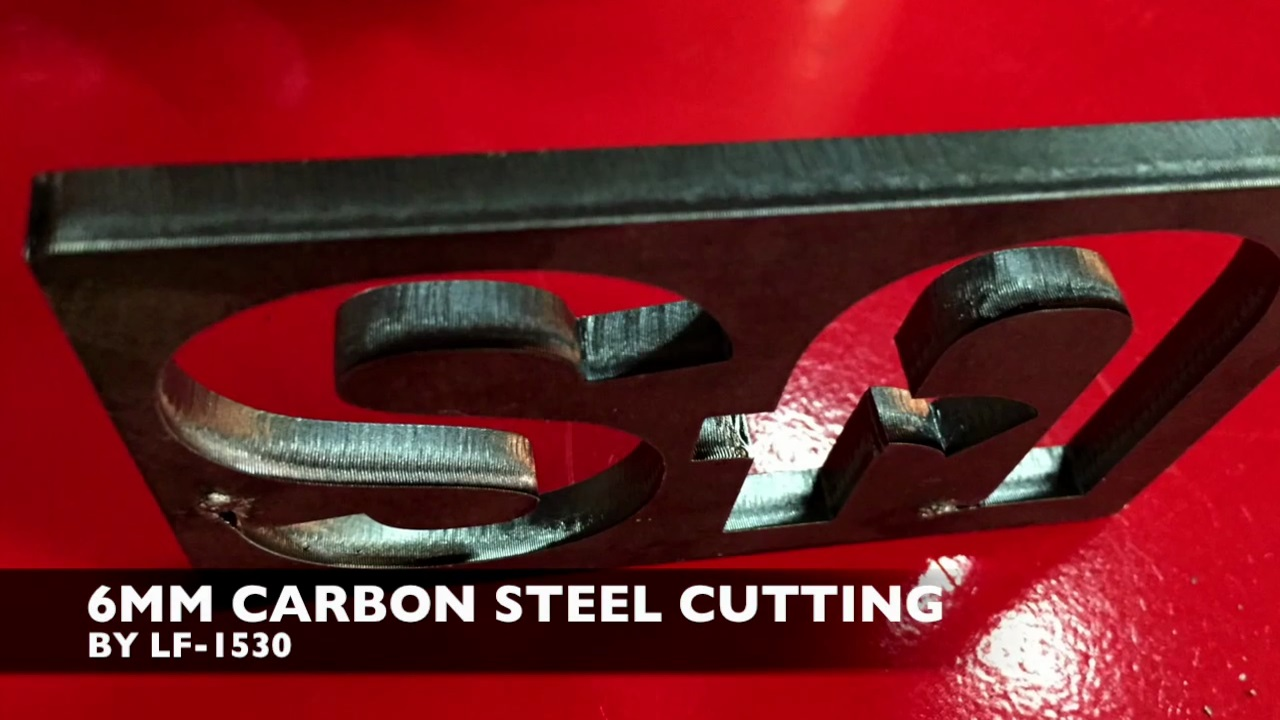6mm Carbon Steel Cutting by LF-1530